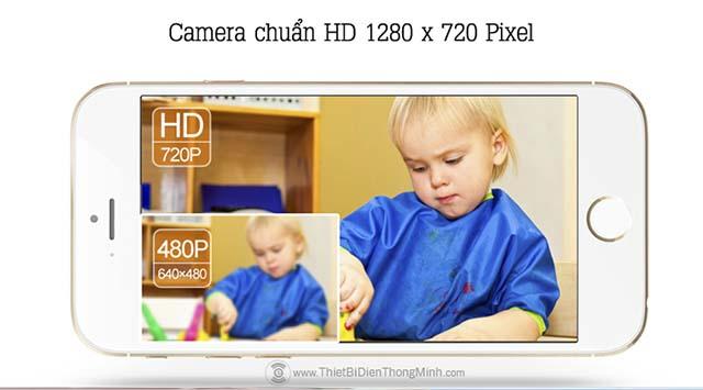 camera chuẩn HD 1280*720 pixxel