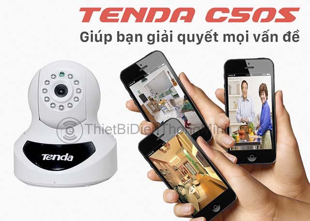 giải pháp camera chính hãng ip tenda c50s