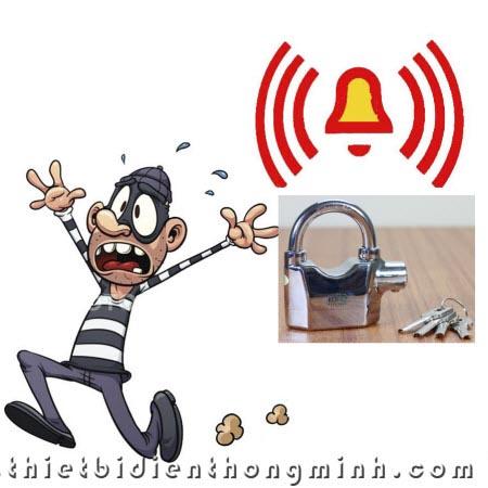 Ứng dụng ổ khóa chống trộm KN-325-Inox